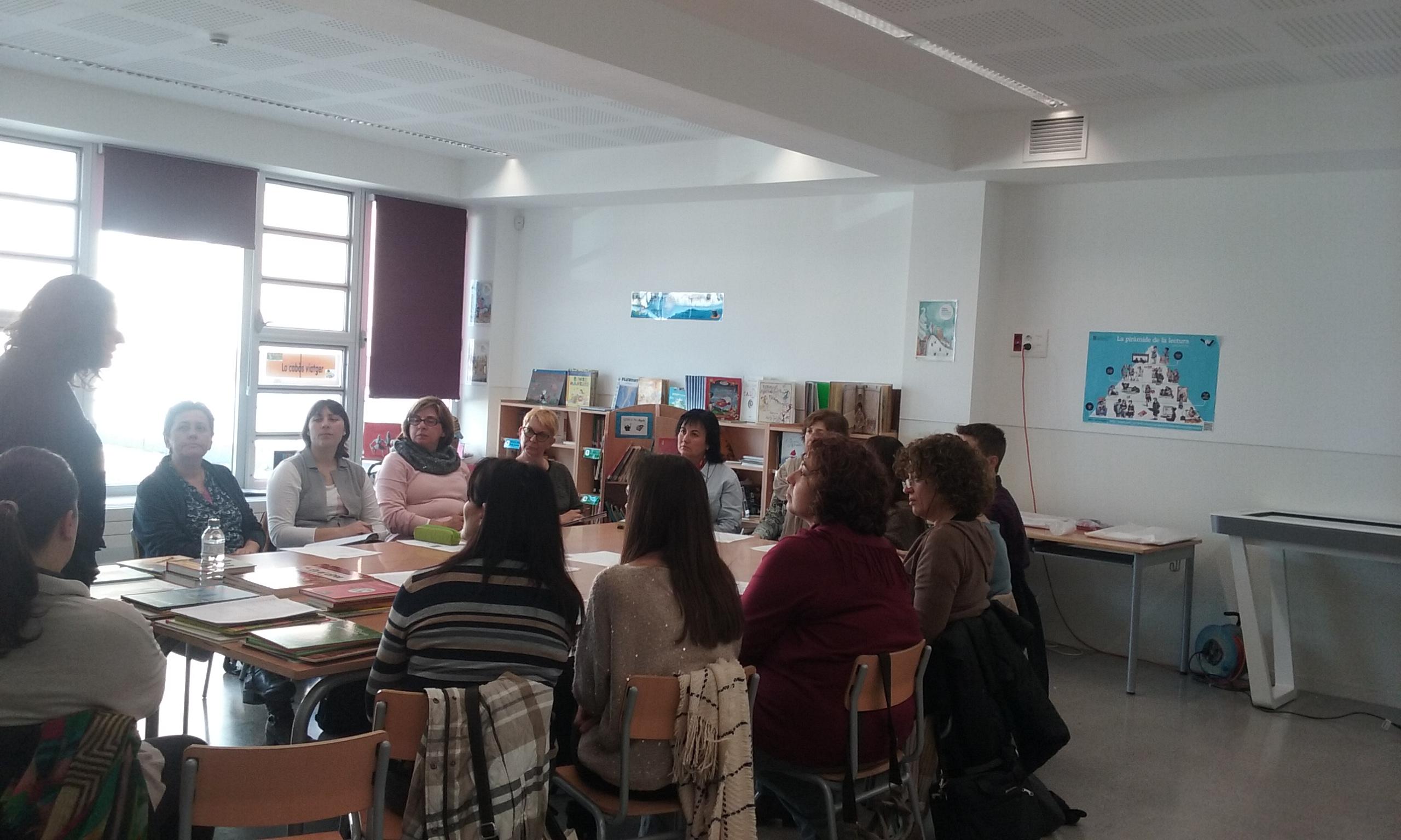 20160309 Biblioteca Escola Lluís Viñas de Móra d'Ebre