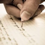 escriure a mà