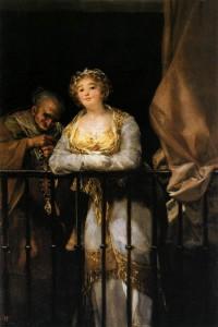 Francisco de Goya: Maja y Celestina