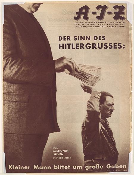 1932_heartfield_der_sinn_des_hitlergrusses