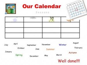 Our Calendar PDI