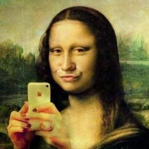 La Gioconda selfie