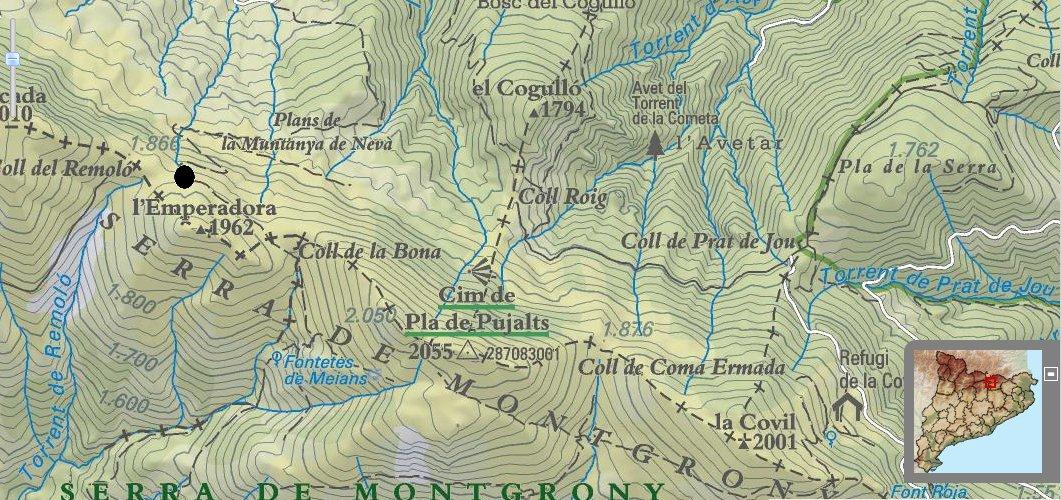 Localització topogràfica