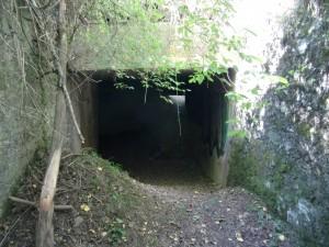 Entrada al fortí