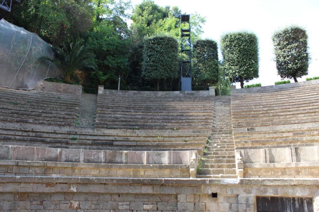 Teatre Grec. Fotografia: Camila Arigón