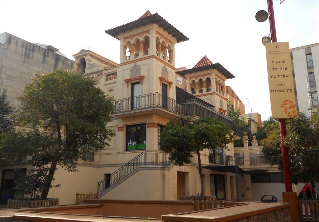 Escola bressol municipal casa pedemonte sant andreu de - Casa bloc sant andreu ...