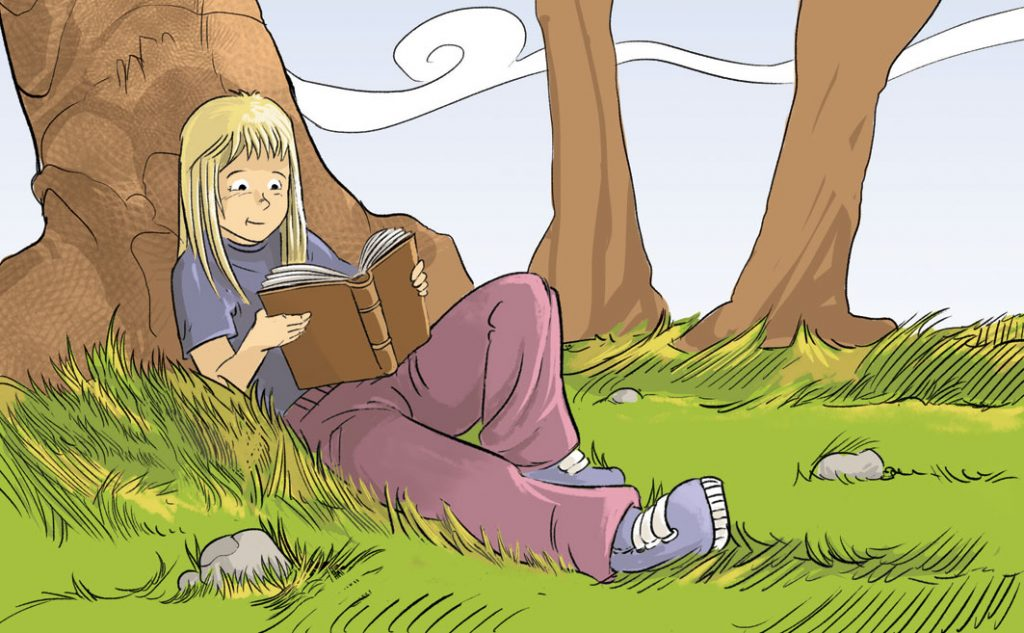 On t'agrada llegir?