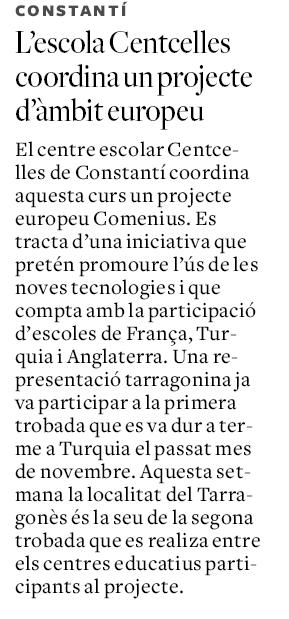 article Diari de Tarragona