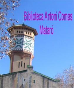 logo biblioteca Antoni comas foto angels