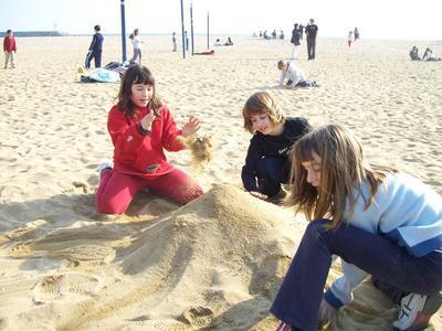 Amalia, Clara i Livia no es tallen gens ni mica
