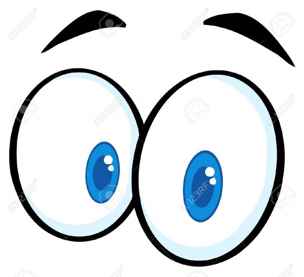 10596139-Ojos-divertidos-dibujos-animados-Foto-de-archivo
