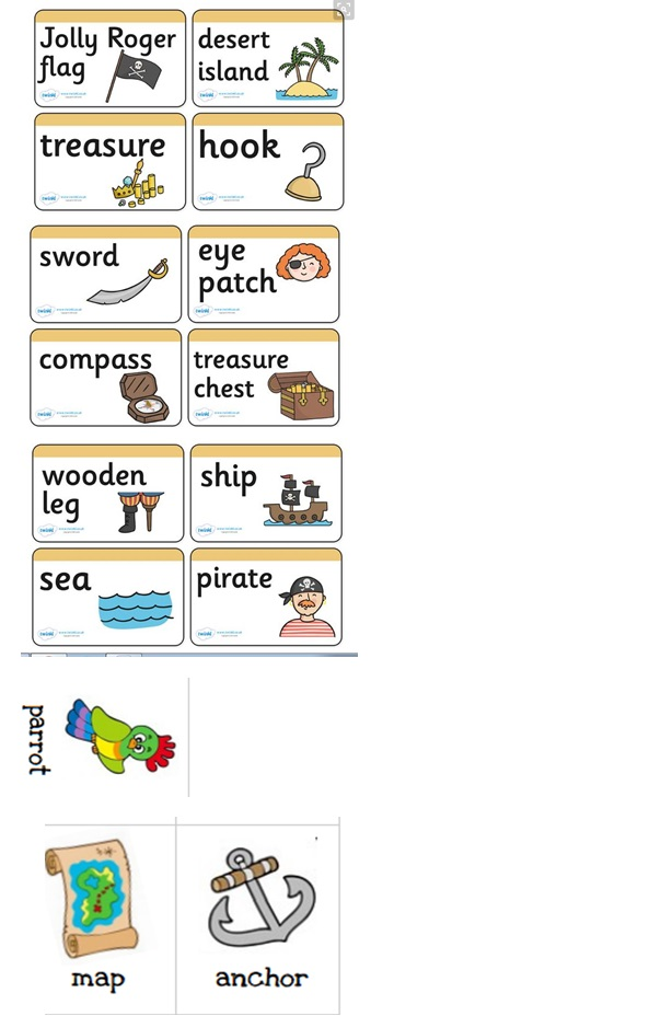 pirate vocabulary