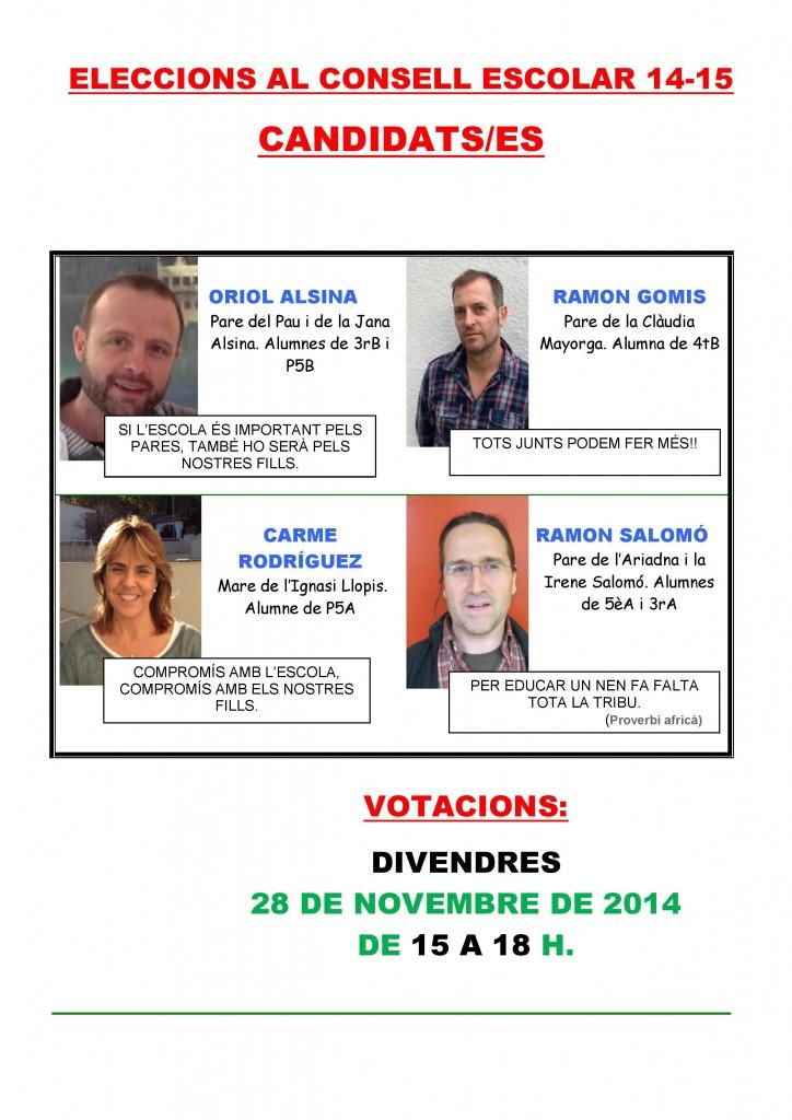 CANDIDATS 2014-15
