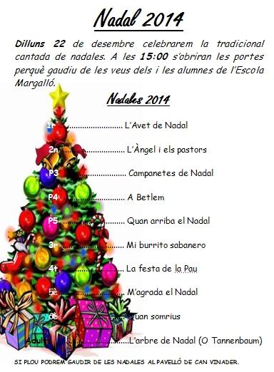 programa nadales 2014