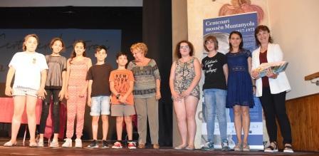 Alumnes de sisè, premi Ferrovell de grup