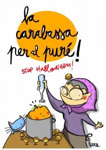 Castanyada Stop Halloween