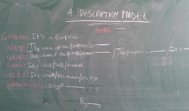 A description model by Victor S