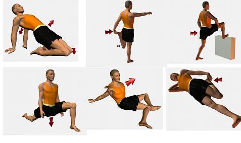 Resultat d'imatges de Exercicis de calentament