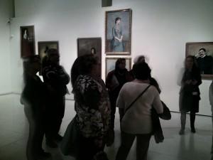 Visita de la nova col·lecció d'art modern del MNAC