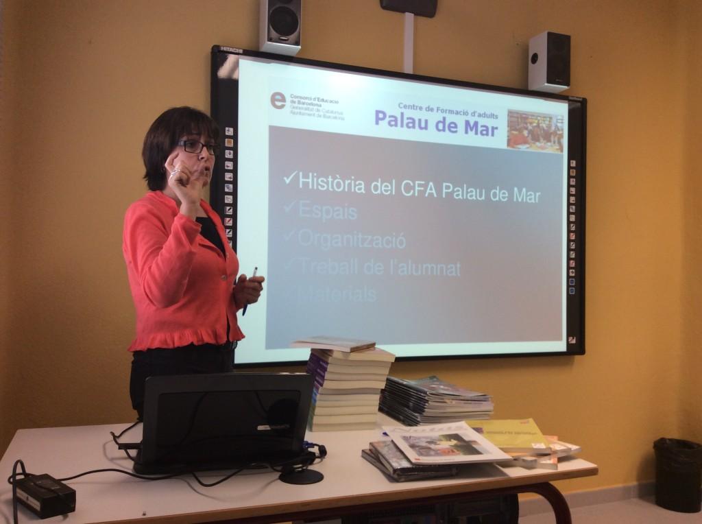 Montse Abelló - Cap d'estudis del CFA Palau de Mar