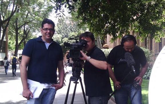 """Enregistrament del programa """"La aventura del saber"""""""
