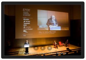 Acte de cloenda del Programa EFEC a Barcelona