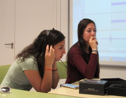 Estudiants del GES del CFA Palau de Mar