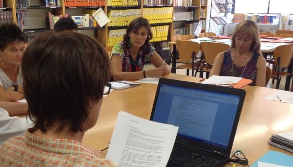 Imatge d'arxiu: Reunió del Consell de Centre del CFA Palau de Mar