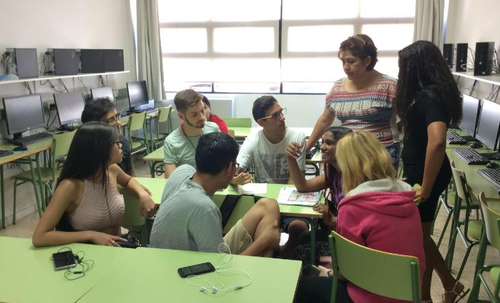 Alumnes del GES del CFA Palau de Mar
