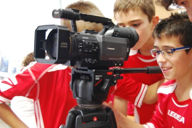 Presentació equip Cinema en curs Comtes de Torregrossa