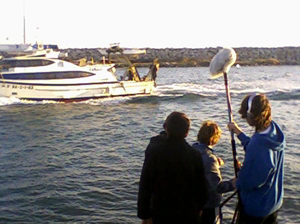 Rodant un Minut Lumière a Canet de Mar