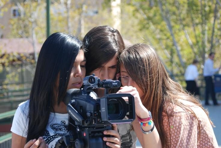 cinema en curs rodatge del film final a l'Institut Bellvitge (L'Hospitalet de Llobregat)
