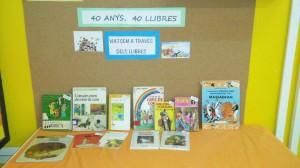 40 anys 40 llibres
