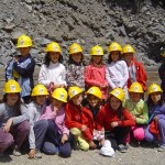 Visita a la fàbrica de ciment Asland