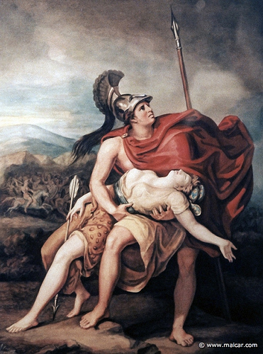 Pentesilea i Aquil·les