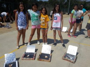 Cooking with the Solar Oven