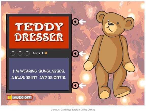 teddydresser