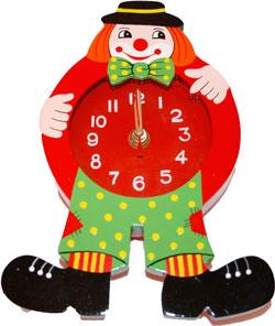 clown-clock