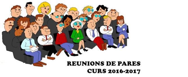 Reunions de pares 2016-17