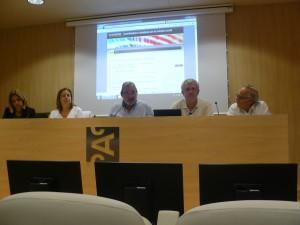 En el Fòrum d'entitats de les persones del CAC el passat dia 15 de juny a la tarda a Barcelona