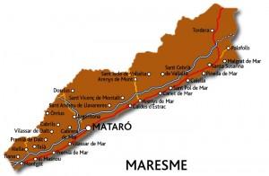 Mapa maresme
