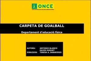 Carpeta Goalball