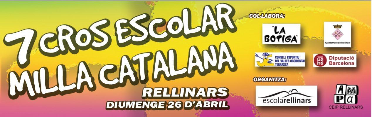 CROS RELLINARS 26 d'abril 2020
