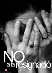 campanya contra la violència domèstica (dones)