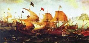 """""""Armada Invencible""""  (Aert van Autum, Rijksmuseum, Amsterdam)"""