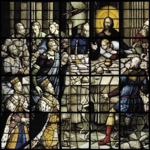 Dirck Crabeth: «Felipe II y María Tudor ante la Eucaristía» (1557)