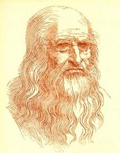 Leonardo da Vinci. Autorretrat