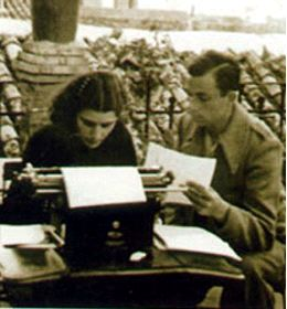 Miguel Hernández y Josefina Manresa