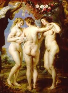 """Rubens. """"La tres gracias"""""""