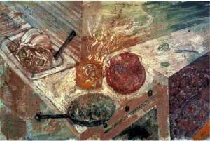 Miquel Barceló (1984) Cuina mallorquina
